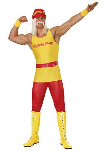 Herren Wrestling Legend Kostüm - S