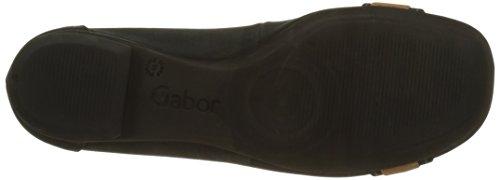 Gabor Shoes Fashion, Ballerine Donna Blu (nightblue/cognac 30)