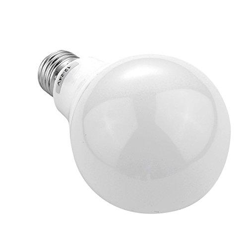 House full of romance E26 / E27 A19 LED Glühbirne Standard Basis 9W 5730 SMD Energiesparendes Tageslicht Kaltweiß/Warmweiß 6500k 3000k AC/DC 12-24V Einfach zu verwenden (Größe : Warmweiß) - E26 Standard Schraube Basis