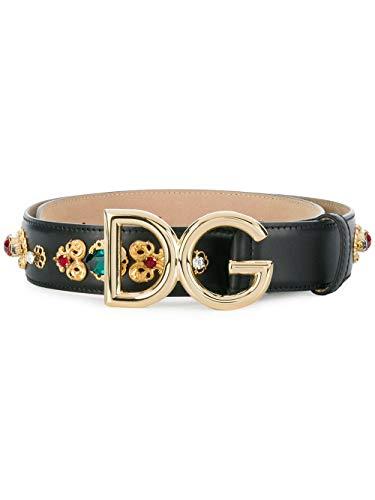Dolce & Gabbana Cintura Donna Be1328az1078s070 Pelle Nero