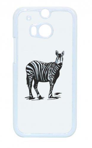Smartphone Case Zebra steht schaut exotisch Wilderness giungla pericoloso per Apple Iphone 4/4S, 5/5S, 5C, 6/6S, 7& Samsung Galaxy S4, S5, S6, S6Edge, S7, S7Edge Huawei HTC-Diver