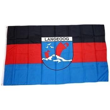 Flagge Sammeln & Seltenes Fahne Insel Hiddensee Hissflagge 90 x 150 cm