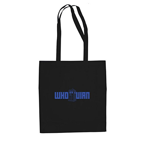 Planet Nerd Whovian Logo - Stofftasche/Beutel, Farbe: ()