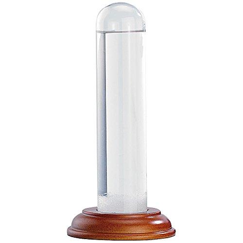PEARL Storm Glass: FitzRoy-Sturmglas (Barometer) aus echtem Glas, 17 cm (Fitzroy Wetterstation)