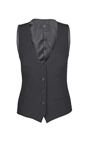 GREIFF Damen-Weste, Regular Fit, 8222, schwarz, Größe 44