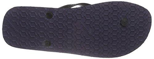 O'Neill Profile Pattern Flip Flop, Ciabatte Uomo Blau (BLUE AOP 5900)