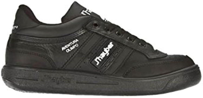 J´hayber - Zapatillas Clásicas New Olimpo Negro  -