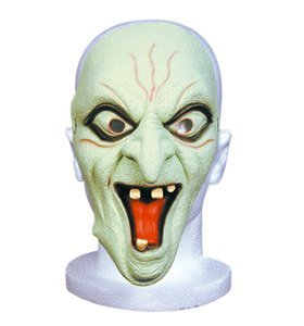 Mask Latex Glow In The Dark Demon for Fancy Dress Masquerade Accessory