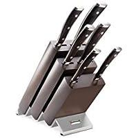 Wüsthof 9866 - Juego de cuchillos con soporte (6 piezas)