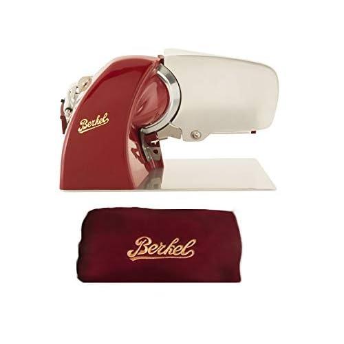 31PCnyiCp9L. SS500  - Berkel - Slicer Home Line 200 + Slicer Cover Color red