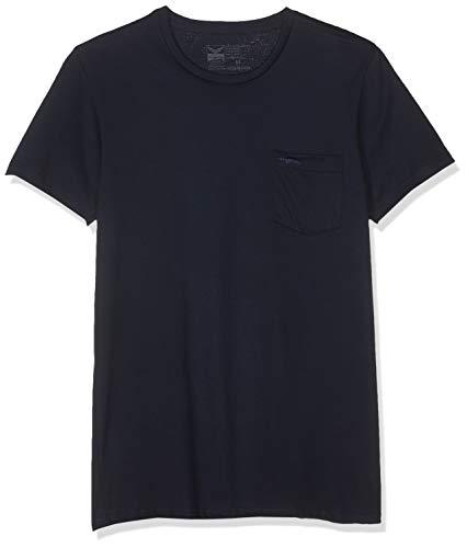 Trigema Herren 639209 T-Shirt, Blau (Navy-C2c 546), Large (Herstellergröße: L) -