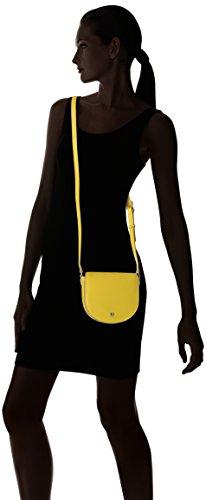 Ecco - Ecco Iola Small Saddle Bag, borsa a tracolla Donna Giallo (Lemon)