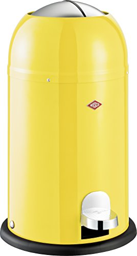 Wesco 180 312-19 Kickmaster Junior Abfallsammler, lemon yellow