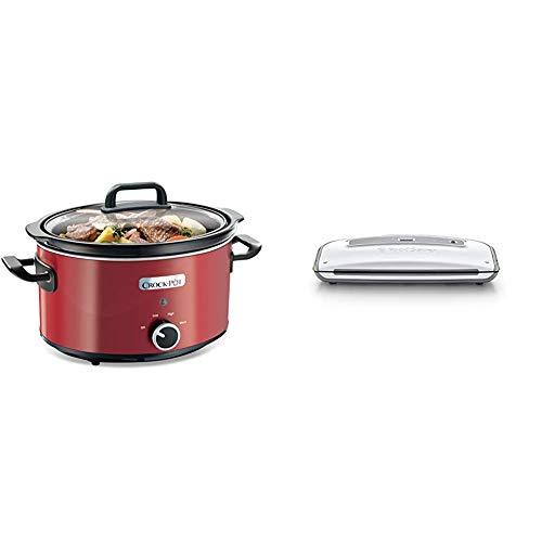 Crock-Pot SCV400RD - Olla cocción lenta + Foodsaver