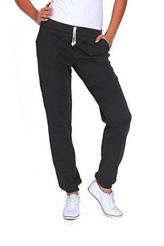 KangaROOS Jerseyhose Gr 38 weiß schwarz bedruckt Pumphose leichte Hose