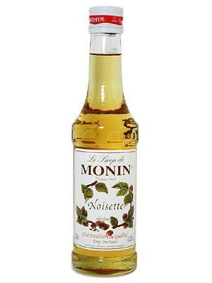 Monin Hazelnut Syrup, 250 ml Bottle