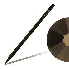 Bleistift mit SWAROVSKI ELEMENTS Piffl Pen schwarz mit Jet Nut (280 NUT)