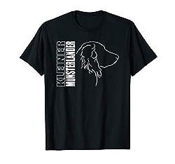 Wilsigns Kleiner Münsterländer im Profil Hund Geschenk Hunde T-Shirt