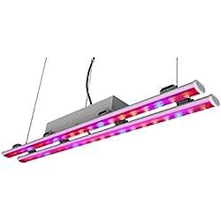 LED Pflanzenwachstum Lampe Kann Doppelrohr 100W Gewächshaus Gemüsekulturen Füllen Licht