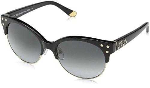 Juicy Couture Damen JU 564/S Y7 9W4 Sonnenbrille, Schwarz Lt Gd Bk/Grey Sf, 54
