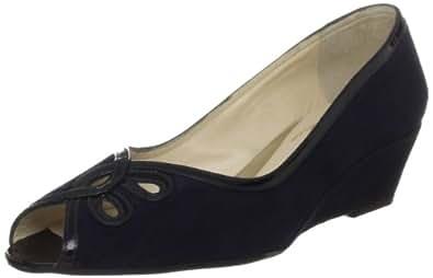 Van Dal Women's Profile Navy Sde/Pat Wedges Heels 1483430 4.5 UK