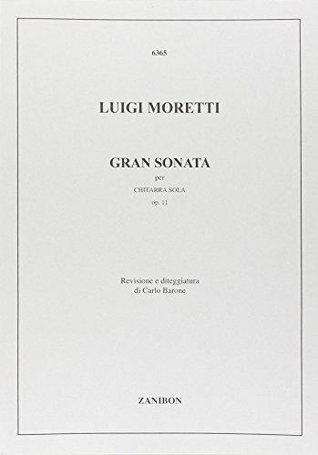 Gran Sonata Op. 11 (Barone) par Luigi Moretti