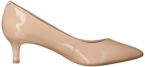 Rockport Kalila Pump Cuir Bottine Warm Taupe Patent