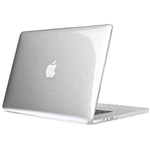 Fintie MacBook Pro 15 Retina Funda (NO CD-ROM Drive) - Ultra Slim Plástico Hard Shell Funda Snap Case para Apple MacBook Pro 15.4