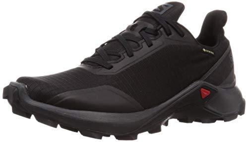 Salomon ALPHACROSS GTX W, Zapatillas de Trail Running para Mujer, Negro Black/Ebony/Black, 38 EU