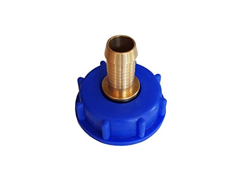 IBC Adaptateur pour réservoir d'eau de pluie avec douille de tuyau/Raccord de tuyau 3/4\