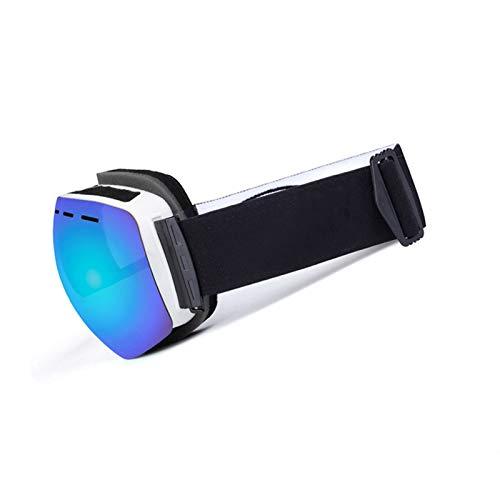 Radbrille Herren Doppel Anti Fog Skibrille Für Erwachsene Im Freien Beschlagfrei Und Winddicht Blue Black Damen Herren