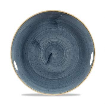 Churchill Stonecast -Coupe Plate Teller- Durchmesser: Ø21,7cm, Farbe wählbar (Blueberry) Blueberry Coupe