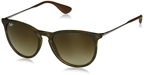 RAY-BAN Erika Square Sunglasses, Tortoise, 54 mm