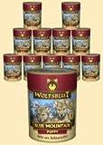 Wolfsblut Blue Mountain PUPPY Nassfutter für Welpen mit Wildfleisch 6 x 395 g