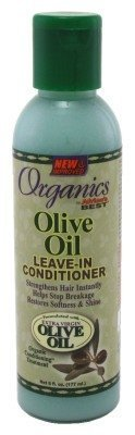 Africas Best Organics Extra Virgin Olive Oil Leave-In Conditioner 6oz by Africa's Best