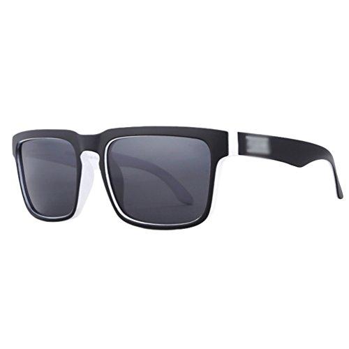Lvguang Hombre Wayfarer Gafas de sol Polarizado al aire libre Deporte Gafas de Conducción (C19)