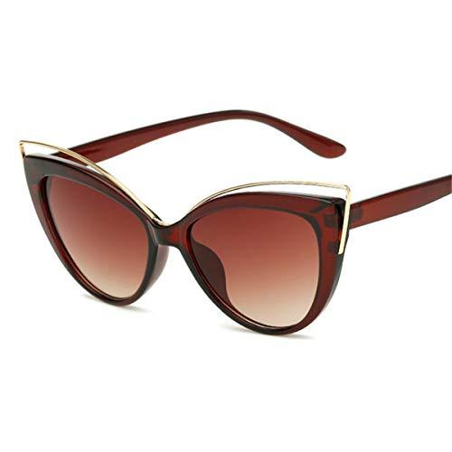 Sport-Sonnenbrillen, Vintage Sonnenbrillen, NEW Cat Eye Sunglasses Women Vintage Gradient Sun Glasses Fashion Luxury Retro Lunette De Soleil Femme 3