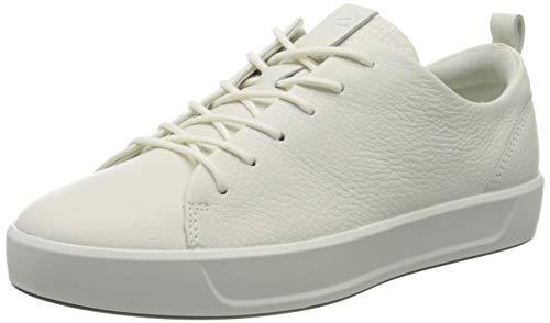 ECCO Damen Soft 8 Ladies Sneakers, Weiß (1007WHITE), 41 EU