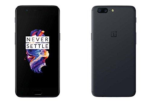 """OnePlus 5 4G 128GB Grey - Smartphones (14 cm (5.5""""), 128 GB, 16 MP, Android, 7.1.1, Nougat/Grigio"""