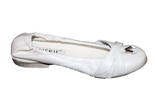 Cherie Kinder Schuhe Mädchen Ballerinas 2209 (ohne Karton) Weiß