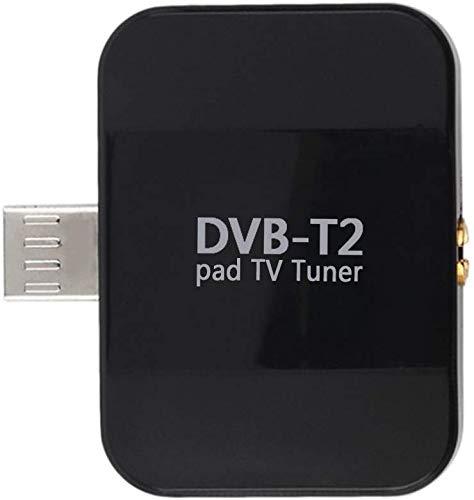 SZYZ Dvb-T2 HD Mini Digital Sintonizador TV, Micro USB Teléfono Receptor con...