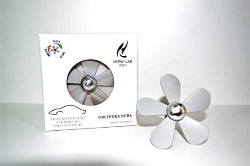 HYPNO CASA Profumo per Auto ELICA Orchidea Nera Made in Italy