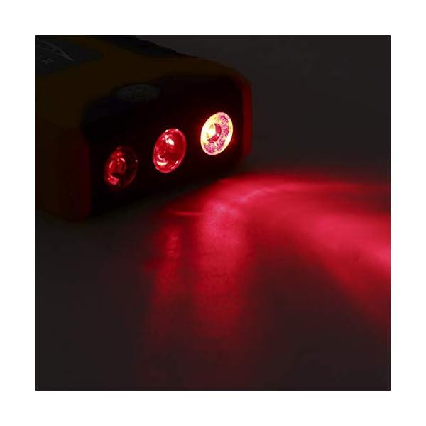 Akozon Car Jump Starter, Automotive Fuente de alimentación de Arranque de Emergencia 12V 20,000mAh Lámpara Cargador de…