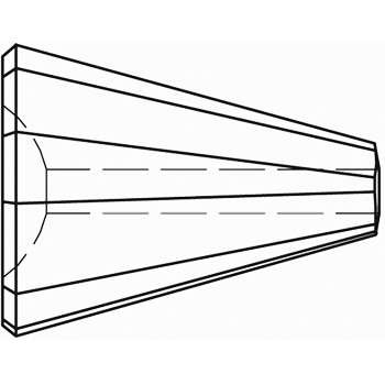 Original Swarovski Elements Beads 5540 MM17,0 - Olivine (228) ; Packing Unit: 48 pcs. Crystal Copper (001 COP)