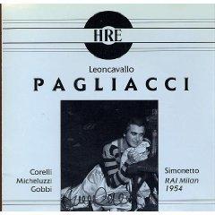 Paillasse (Opéra Milan 1954) [Import USA]