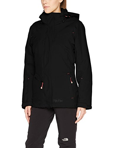 Fifty Five Damen 3-in-1 Jacke Doppeljacke Winterjacke Minaki Bay Schwarz 38 Outdoorjacke W