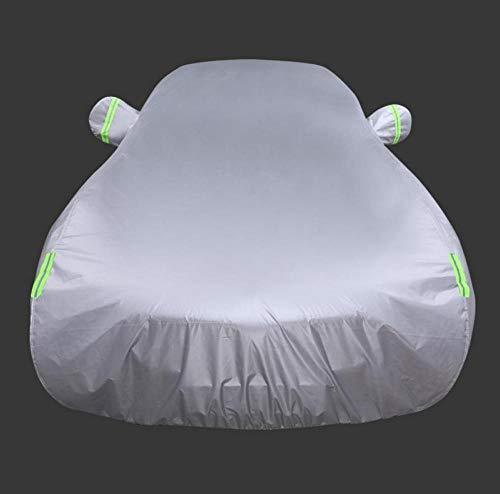 GHDTGS Copriauto Traspirante Impermeabile A Grandezza Naturale per Auto Coprispalle Personalizzato per Interni Auto,Silver-Rohenscou