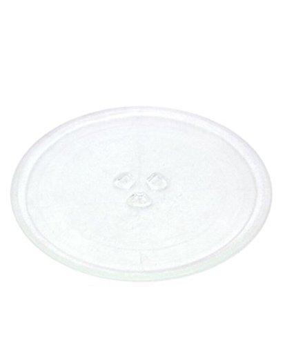 Home Teile LTD-Universal 245mm Glas-Plattenteller für Mikrowelle Teller Micro Wave Schale 24,8cm - Mikrowelle Drehteller Unterstützung