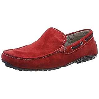 Sioux Herren Callimo Mokassin, ,, Rot (Rosso/Night 005), 45 EU (10.5 UK)
