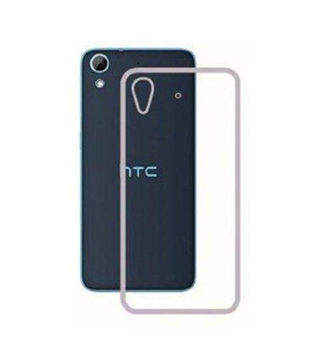 Johra Transparent Soft Back Case Cover for HTC Desire 828